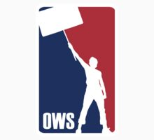 Occupy Wall Street - NBA Logo Parody by Brother Adam