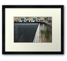 Watching the Falls Framed Print