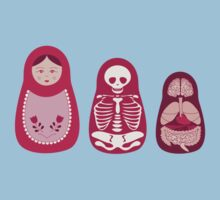 Inside out - Russian Matryoshka dolls by Sarah Phillips Dean