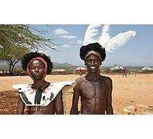 maasai warriors Photographic Print