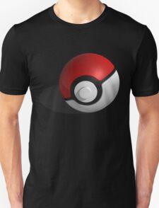 3D Style Pokemon Pokeball Unisex T-Shirt