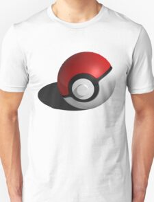 3D Style Pokemon Pokeball T-Shirt