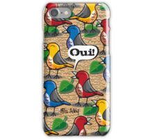 """The Birds of Jardin du Luxembourg"" (2010) iPhone Case/Skin"
