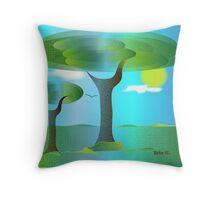 Sunny Days Throw Pillow