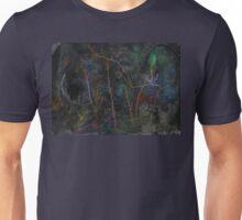 Inhabiting the Warm Wood Unisex T-Shirt