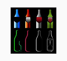 Bottles and glasses- spirits  T-Shirt