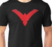 Nightwing Symbol (Red) Unisex T-Shirt