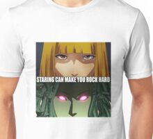 Prison School - Hana & Medusa: Staring Can Make You Rock Hard Unisex T-Shirt