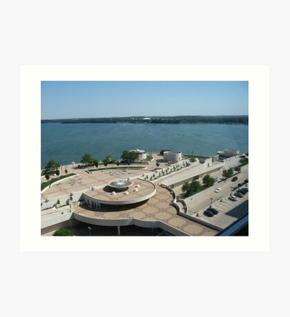 Menona Terrace Community and Convention Center Art Print