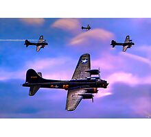 US Army Air Corps B17G Flying Fortress Photographic Print