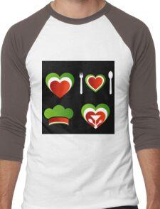 Italian cuisine Men's Baseball ¾ T-Shirt