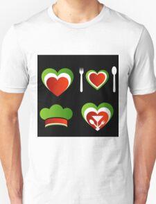 Italian cuisine Unisex T-Shirt