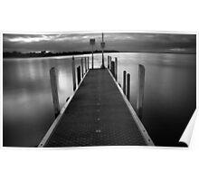 still waters. inverloch, victoria Poster