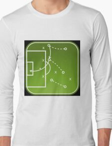 Football tactics board Long Sleeve T-Shirt