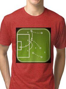 Football tactics board Tri-blend T-Shirt