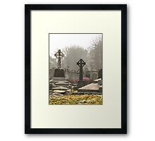 Irish Cemetery Framed Print