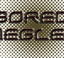 bored smegless Sticker