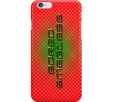bored smegless iPhone Case/Skin