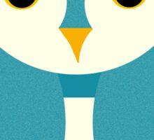 Teal Owl Sticker