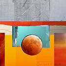 Abstract Moon by Tom Golden