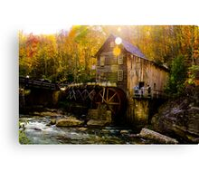 Babcock state park - Glade Creek Grist Mill Canvas Print