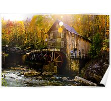Babcock state park - Glade Creek Grist Mill Poster