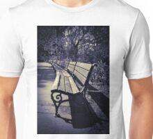 wooden bench Unisex T-Shirt
