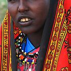 Maasai Warrior by Jill Fisher