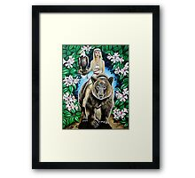 Vision and Strength Framed Print