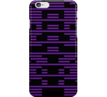 stella glitch art  iPhone Case/Skin