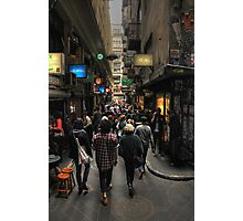 Centre Place, Flinders Lane Photographic Print
