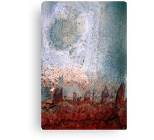 city moon Canvas Print