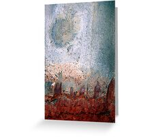 city moon Greeting Card