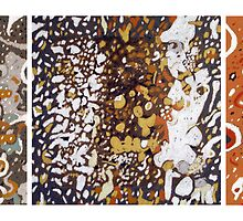 Abstract Triptych by Richard Klekociuk