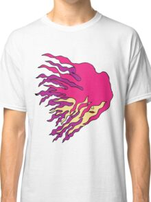 Girl with flame like hair Classic T-Shirt