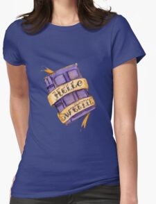 """Hello Sweetie"" Womens Fitted T-Shirt"