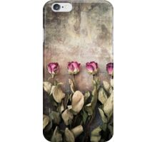Five dried roses iPhone Case/Skin