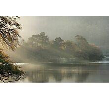Sunrays on Rydal Water . Photographic Print