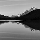Waterfowl Lake by Peter Zentjens