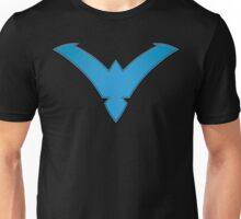 Nightwing Symbol (Blue) Unisex T-Shirt