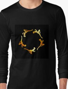 Gymnasts in action Long Sleeve T-Shirt