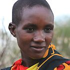 Maasai Girl by Jill Fisher
