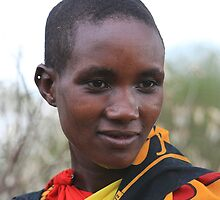 Maasai Girl by Jill Fisher