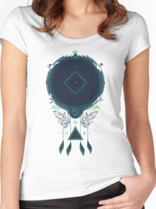 Cosmic Dreaming Women's Fitted Scoop T-Shirt
