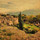 Among the Ruins-Pompeii by Deborah Downes