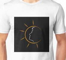 Face of a woman in the sun Unisex T-Shirt
