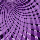 Twisted Plaid Purple by ChunkyDesign