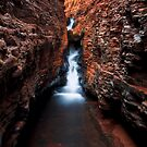 The Spider Walk - Hancock Gorge - Karijini NP by Matt  Streatfeild