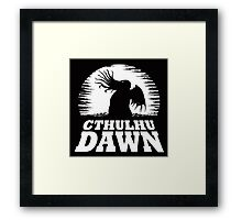 Cthulhu Dawn Framed Print