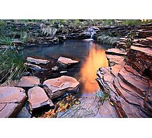 A View of Eden - Weano Gorge - Karijini NP Photographic Print